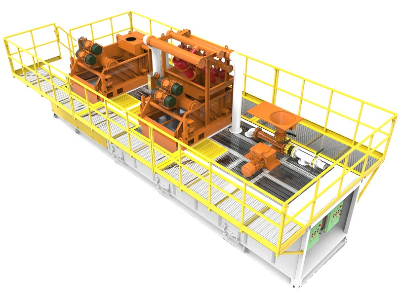 500GPM Mud Recycling System